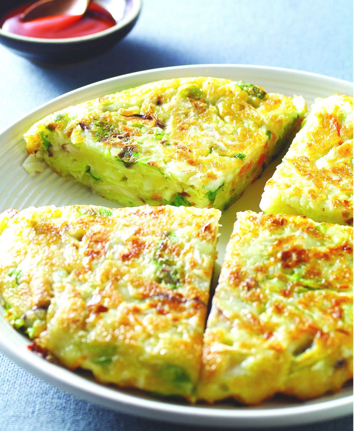 食譜:蔬菜煎餅(5)