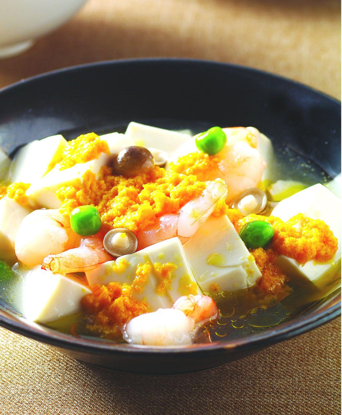 食譜:蟹黃豆腐(4)