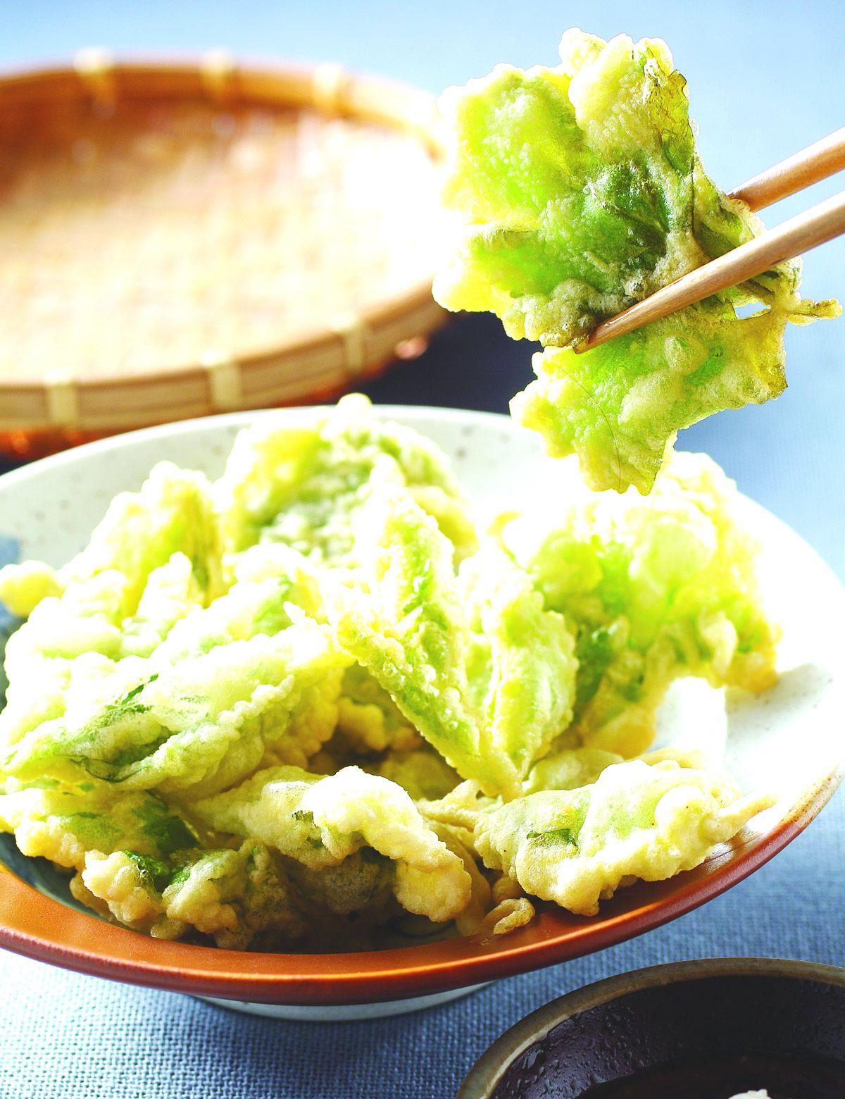 食譜:芹菜天婦羅