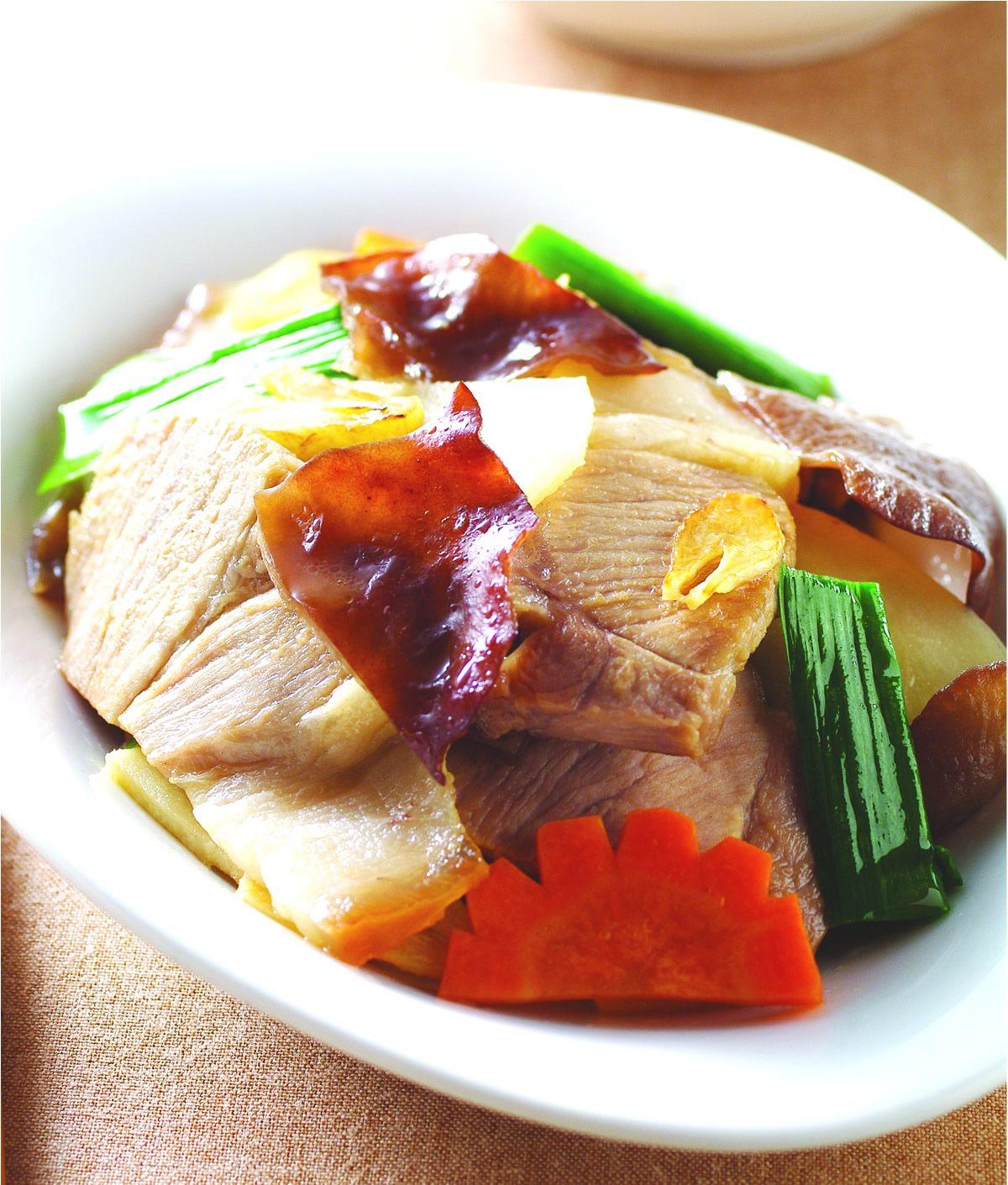食譜:蒜尾炒肉片
