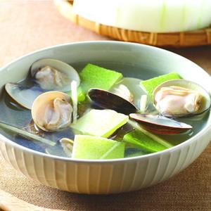 冬瓜皮蛤蜊湯