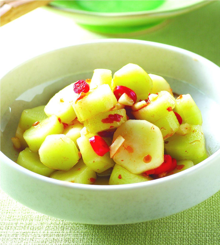 食譜:醃花椰菜心