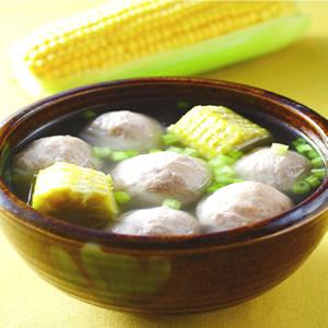玉米梗丸子湯