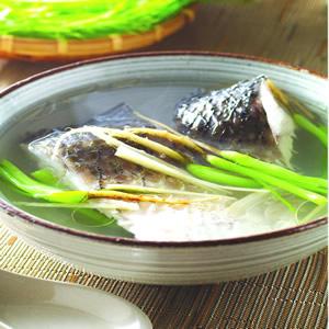茴香頭燉魚湯
