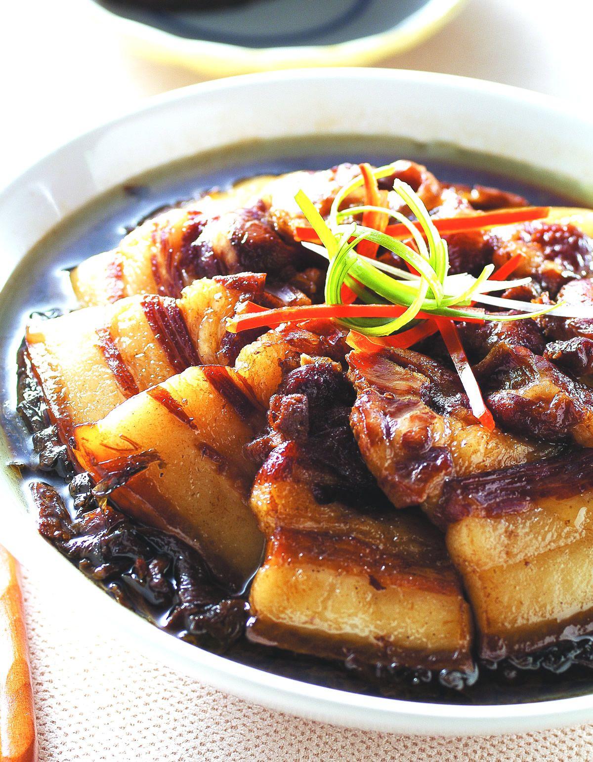 食譜:梅干扣肉(6)