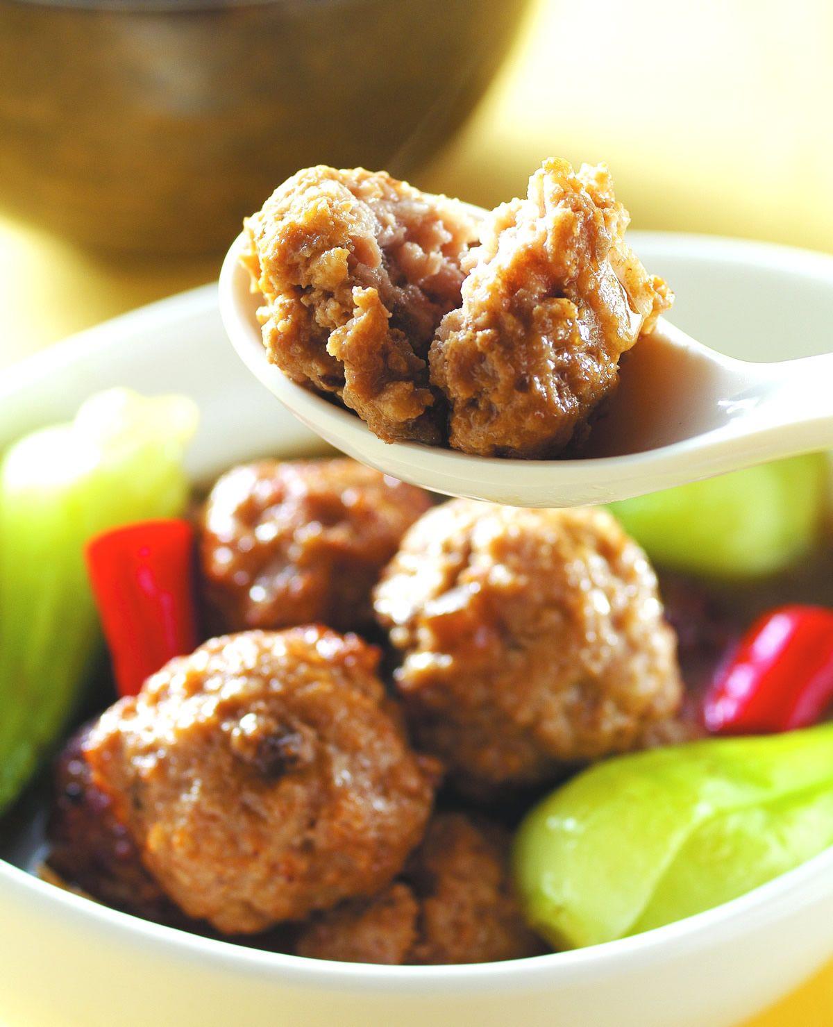食譜:醬滷肉丸子