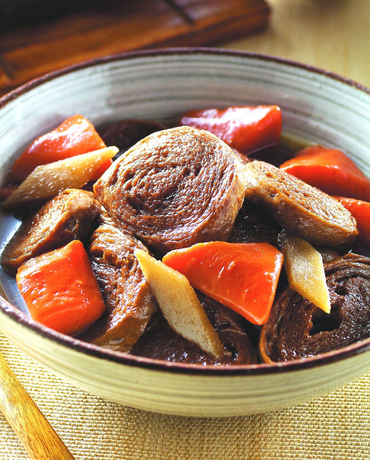 食譜:紅蘿蔔豆輪