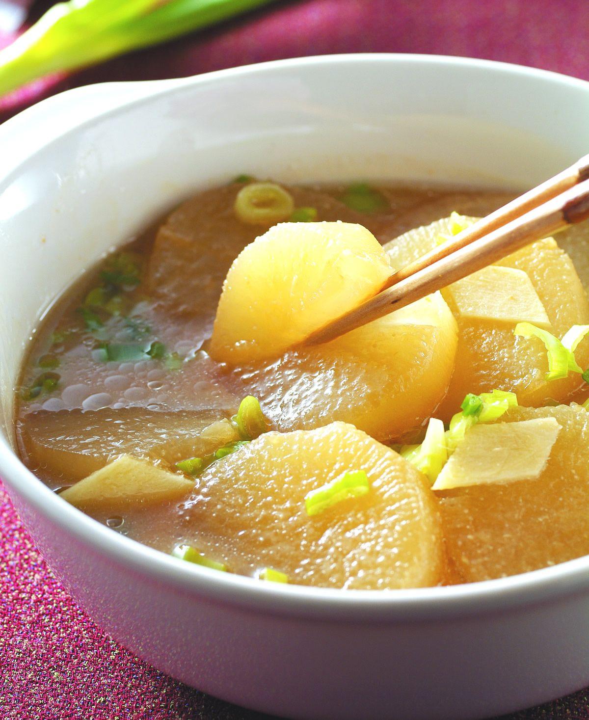 食譜:味噌白蘿蔔