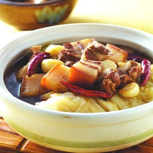 高麗菜燉肉