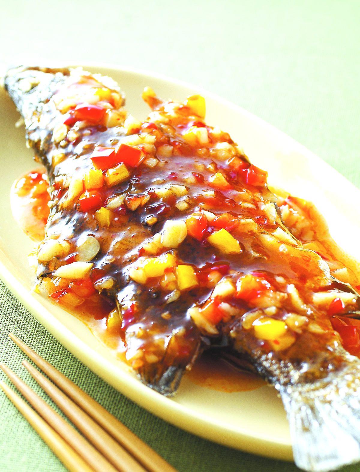 食譜:香酥酸辣魚