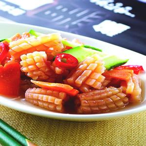 黃瓜拌魷魚