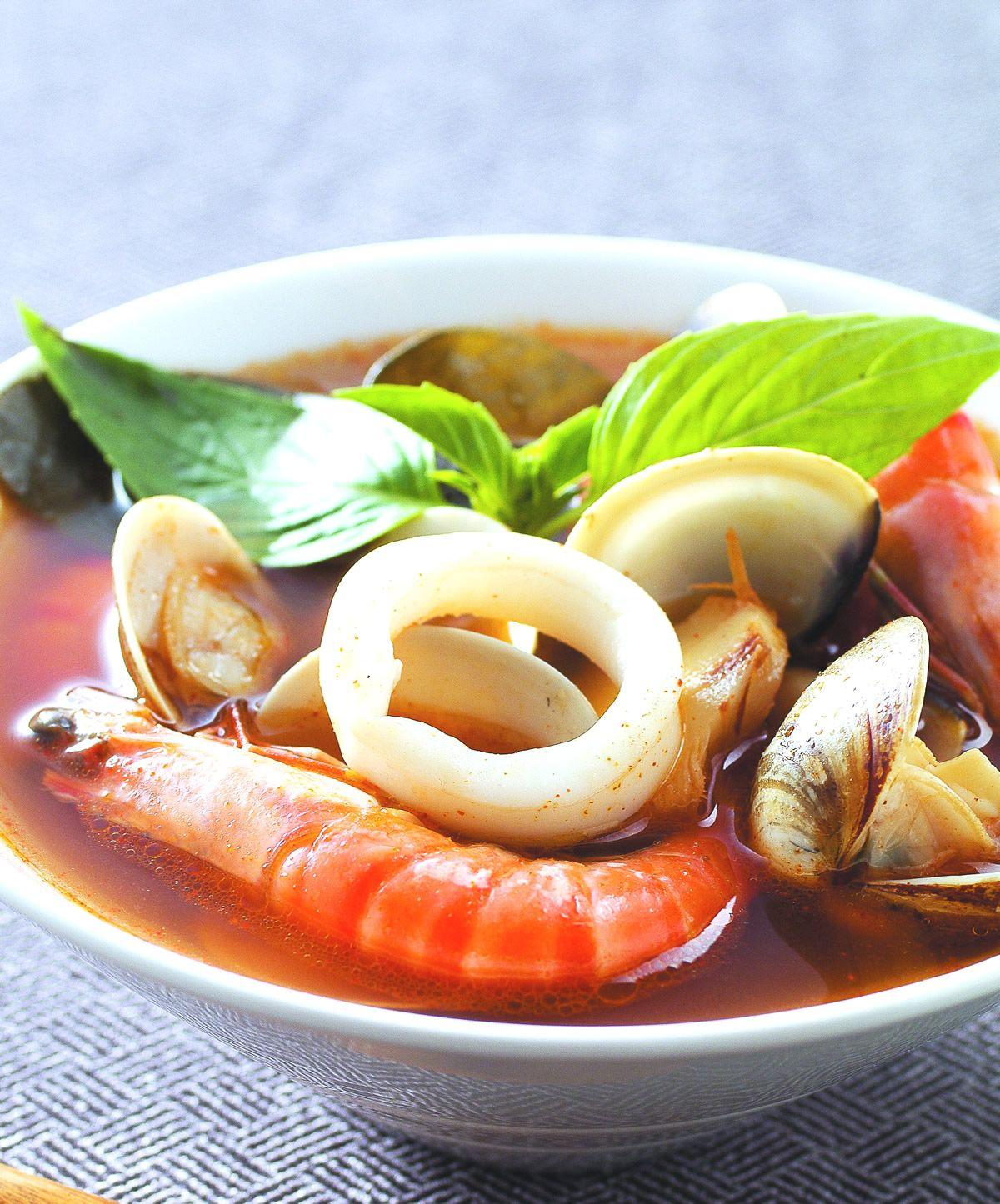 食譜:泰式海鮮湯