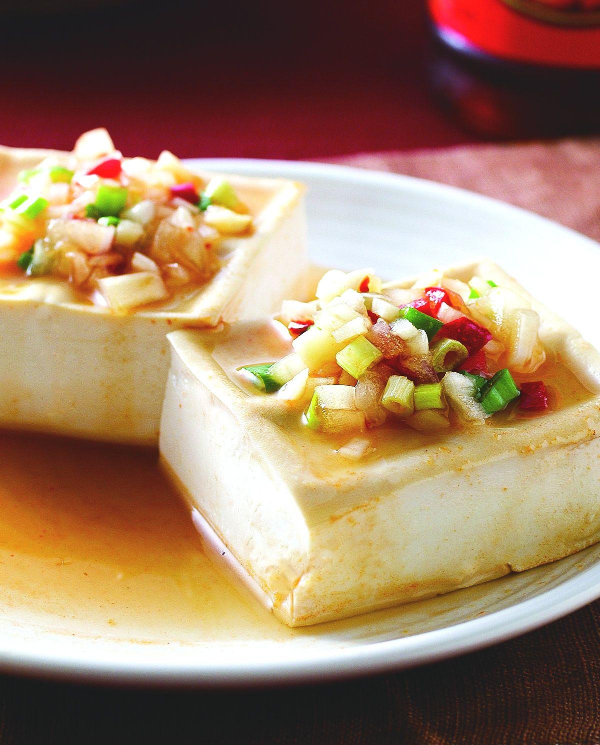 食譜:酸辣蒸豆腐