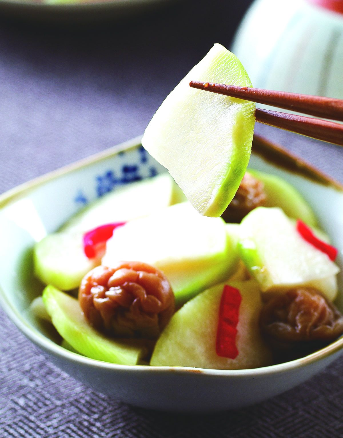 食譜:梅子醃大頭菜