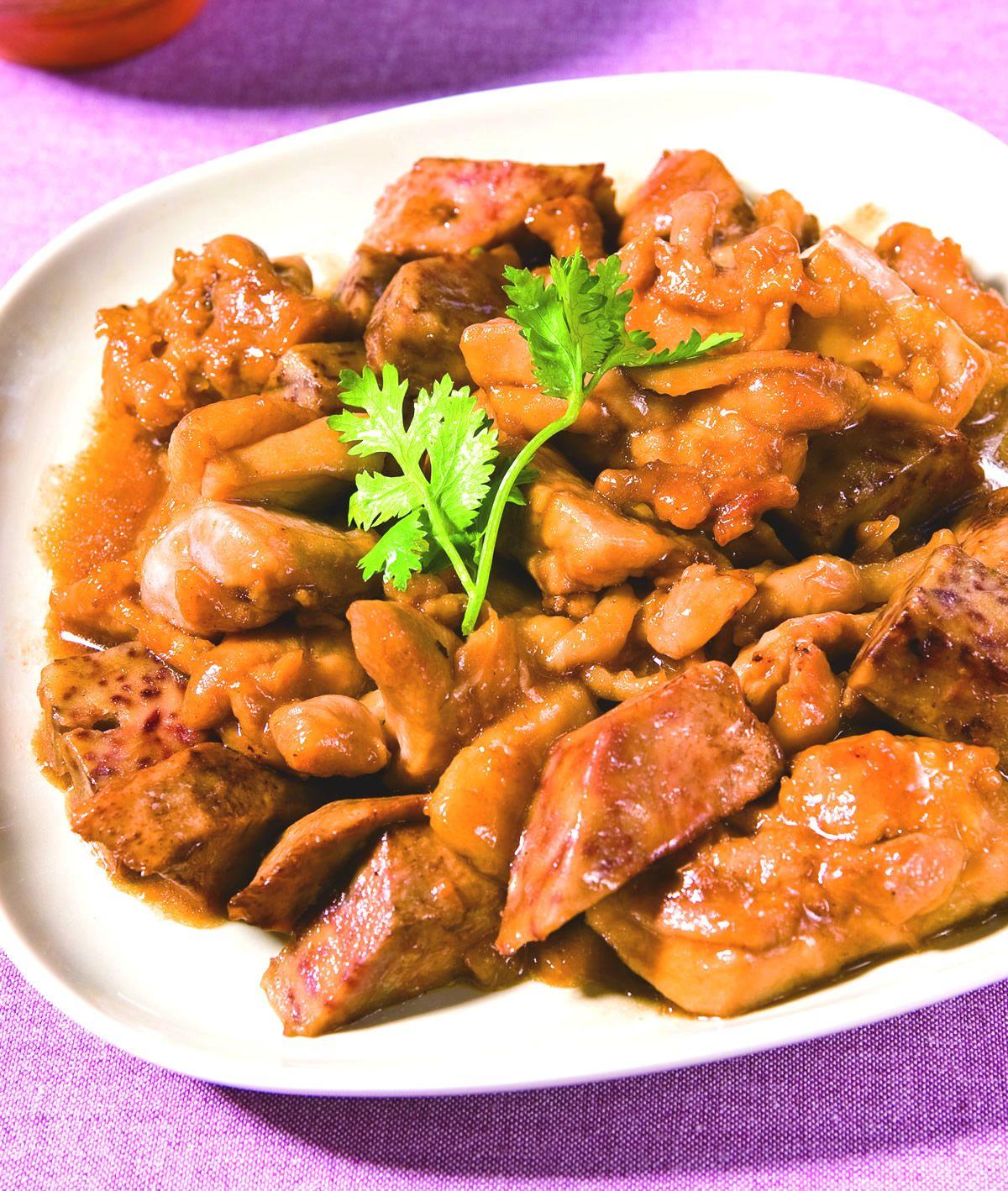 食譜:芋頭燒雞(4)