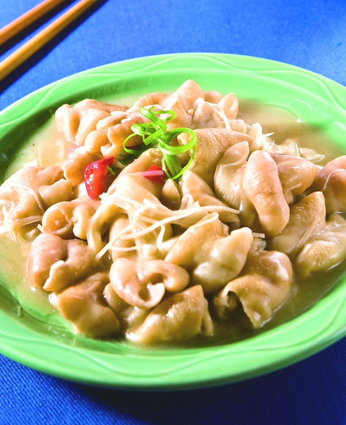 食譜:薑絲炒大腸(5)
