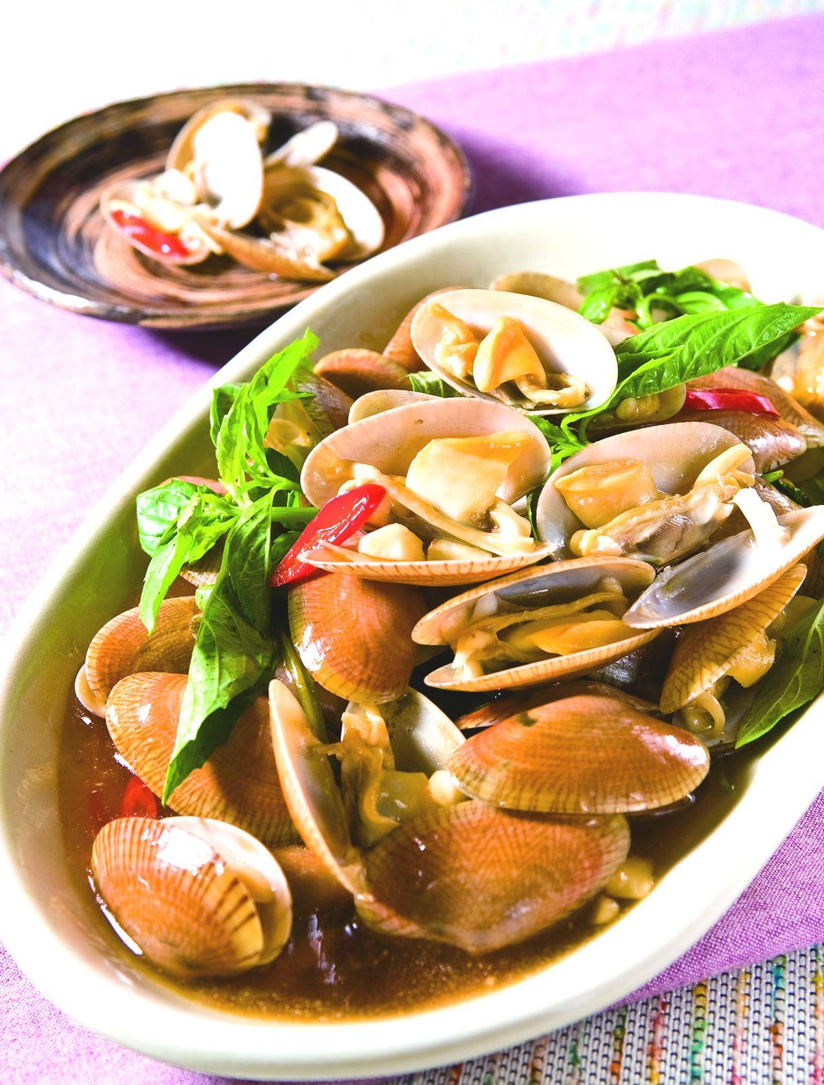 食譜:塔香海瓜子(2)
