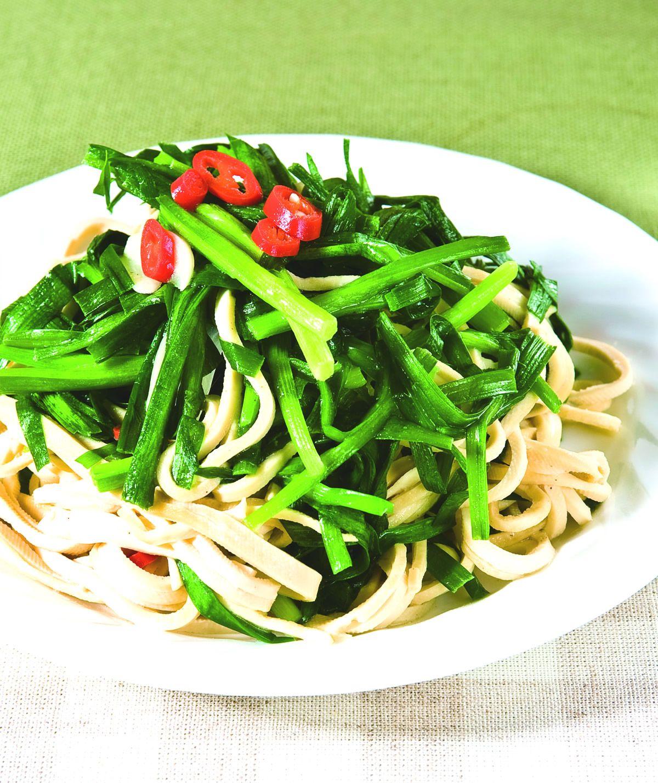 食譜:韭菜干絲