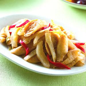 薑炒酸菜麵腸