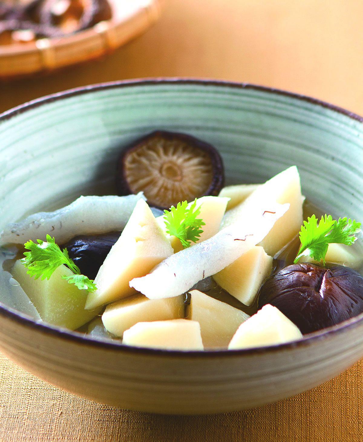 食譜:竹筍香菇蒟蒻