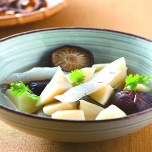 竹筍香菇蒟蒻
