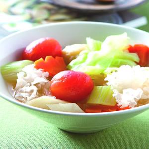 蕃茄銀耳燉蔬菜