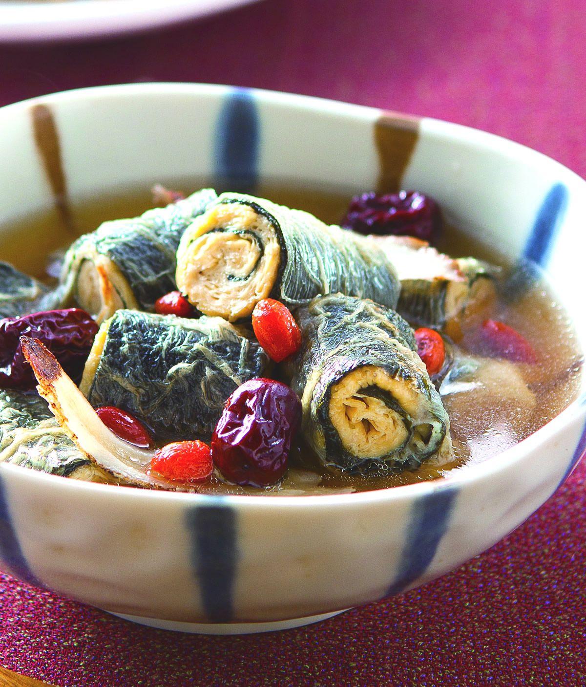 食譜:藥膳燉鰻魚