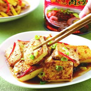 肉燥家常豆腐