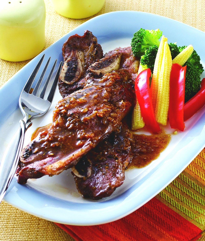 食譜:紅蔥烤牛小排