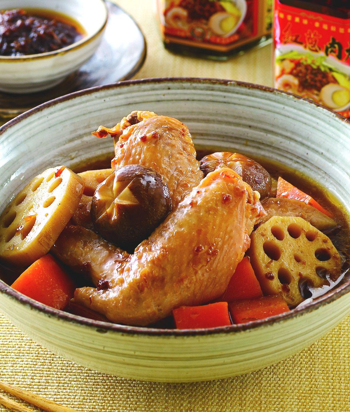食譜:和風藕燒雞翅