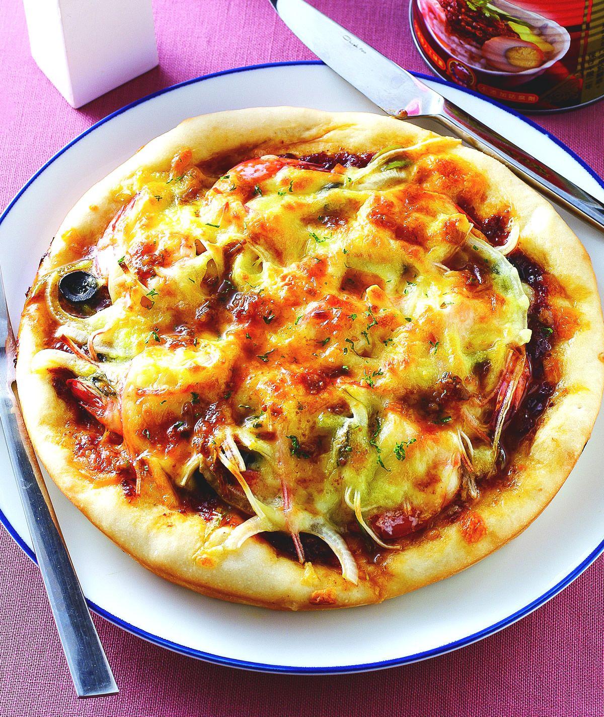 食譜:肉燥海鮮PIZZA