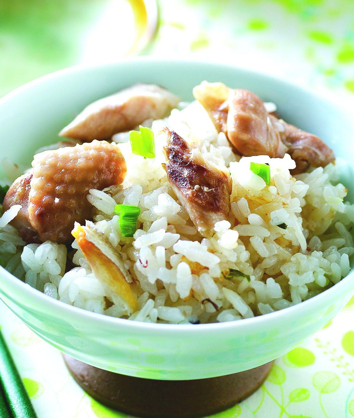 食譜:鹹魚雞粒飯