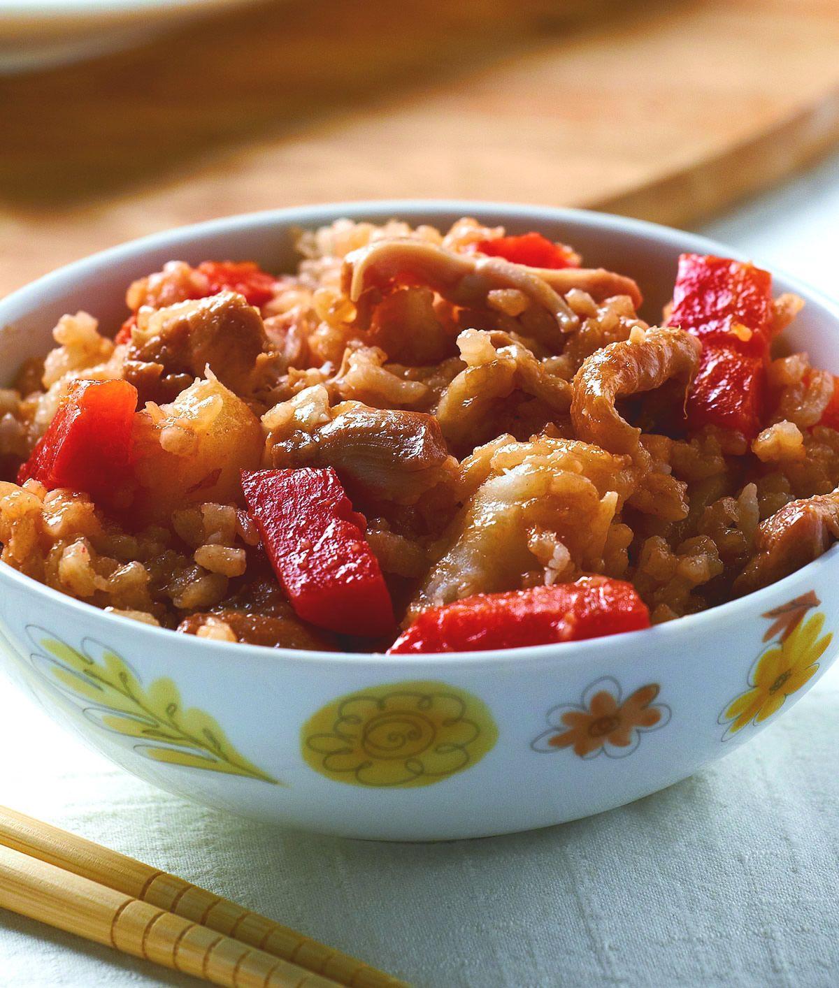 食譜:紅燒雞肉飯