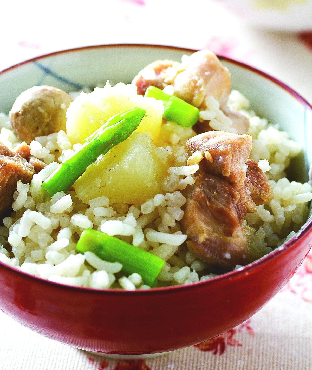 食譜:奶香雞粒炊飯