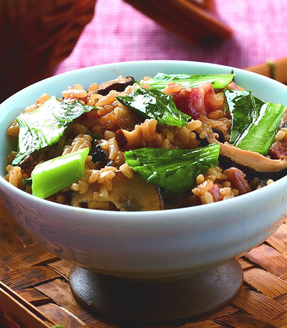 食譜:上海菜飯(3)