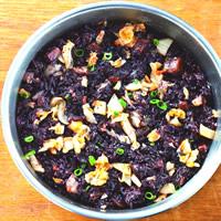 泡菜紫米牛肉飯