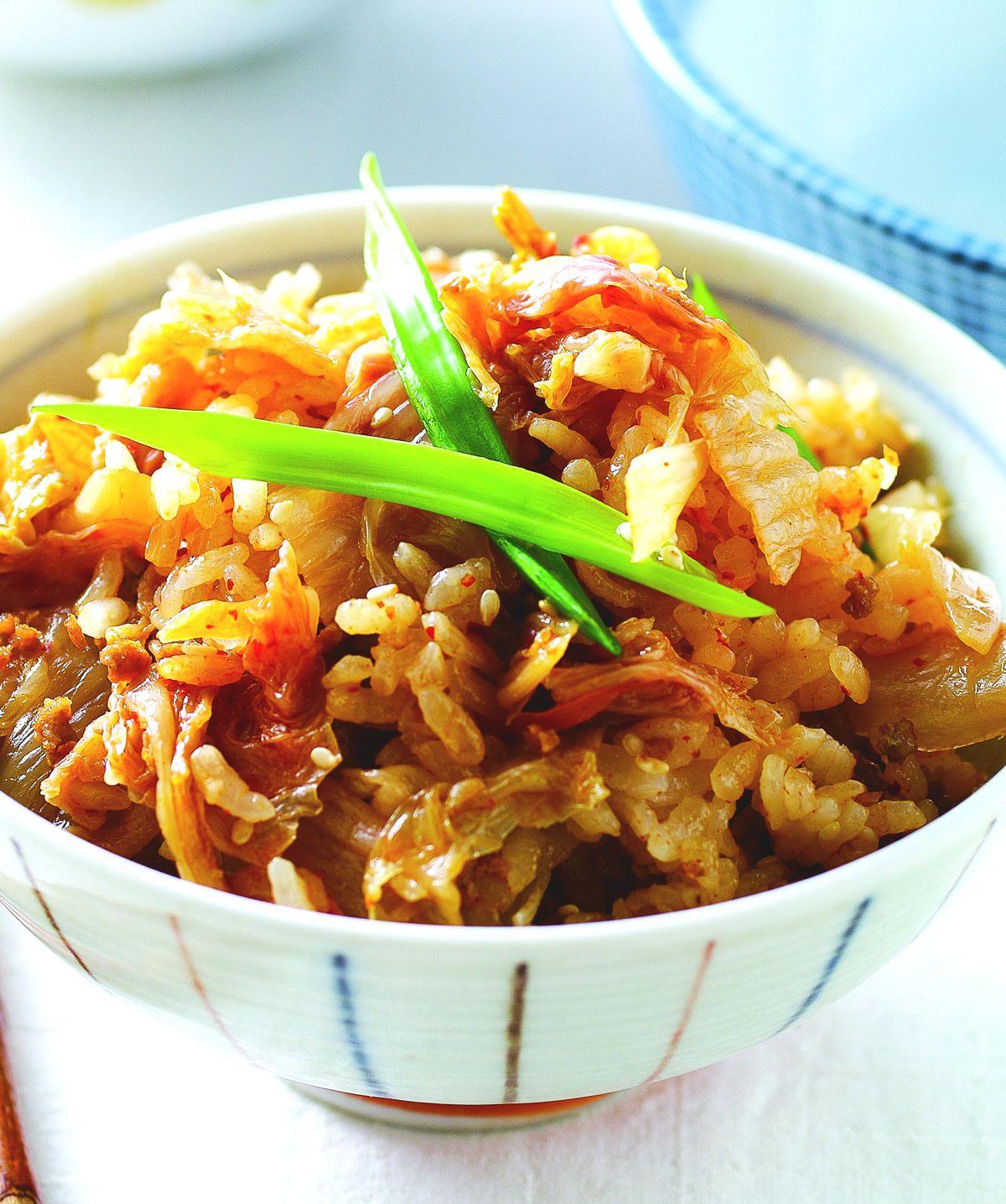 食譜:泡菜炊飯