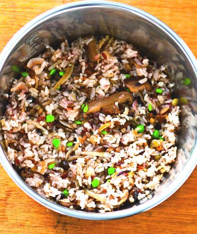 食譜:五穀炊飯