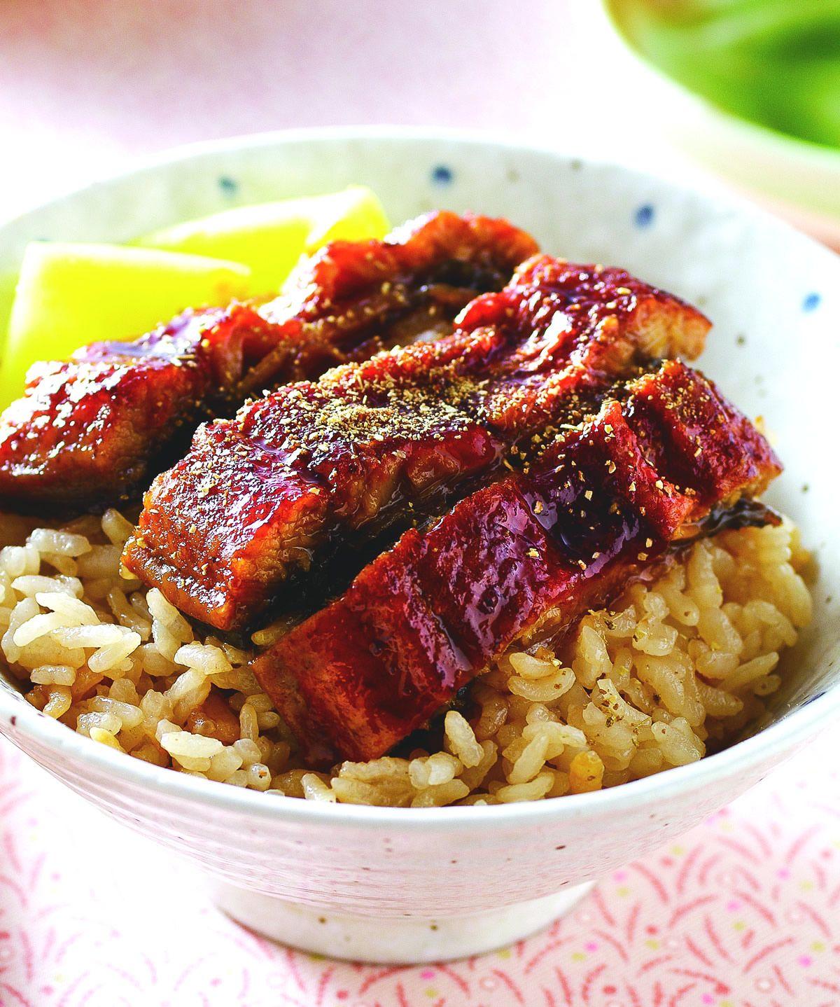 食譜:蒲燒鰻魚炊飯