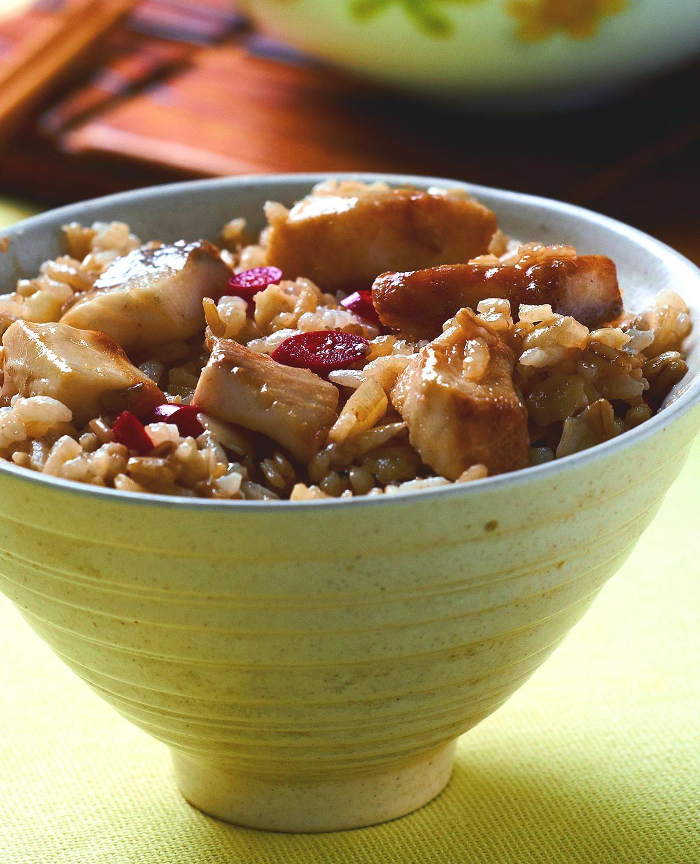 食譜:麥片魚丁飯