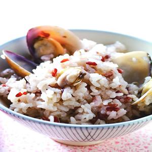 薑絲蛤蜊飯