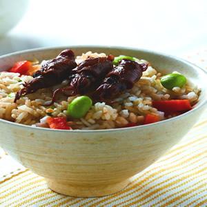 豆豉小捲飯