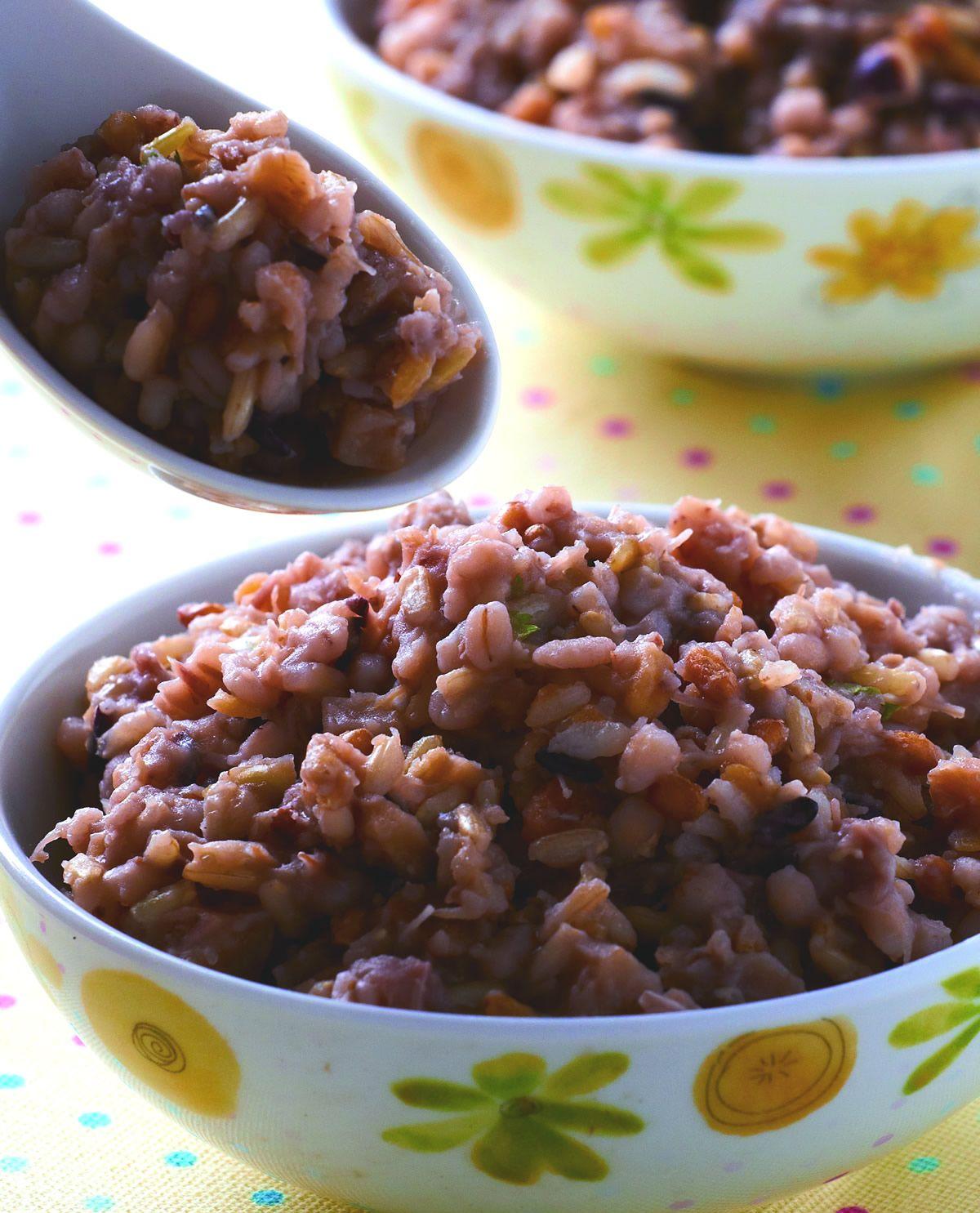 食譜:五穀雜糧芋香飯
