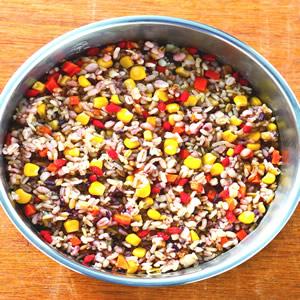 五穀雜糧枸杞飯