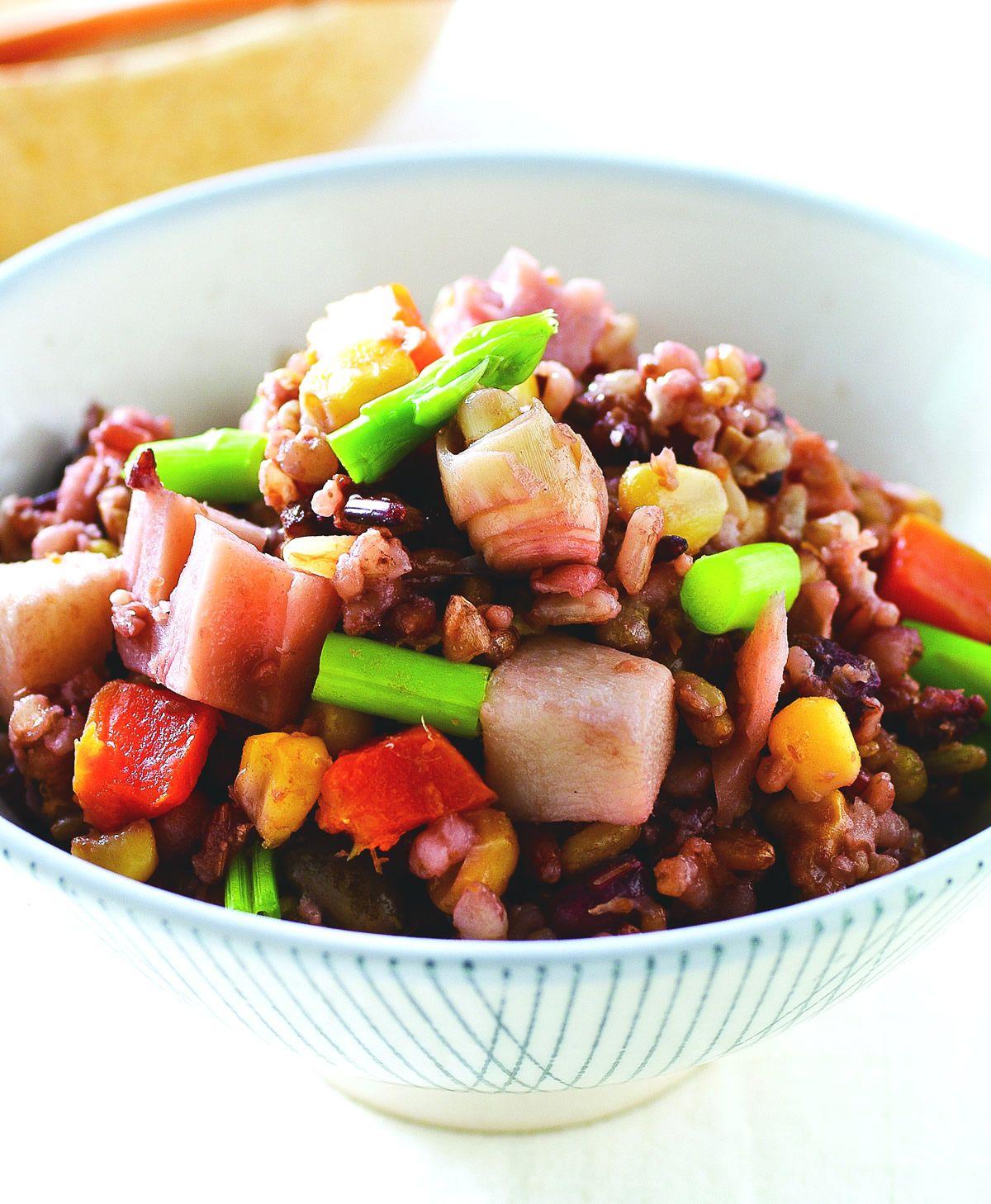 食譜:鮮蔬雜糧炊飯