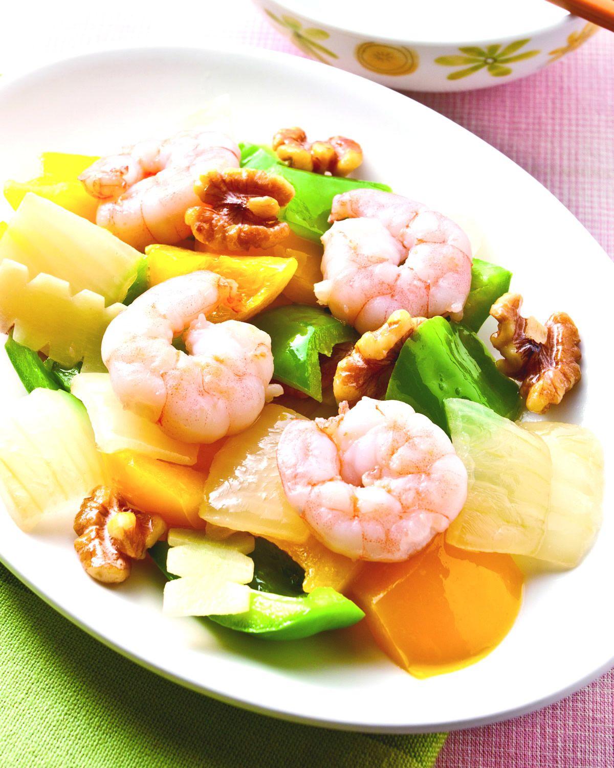 食譜:核桃炒蝦仁(1)