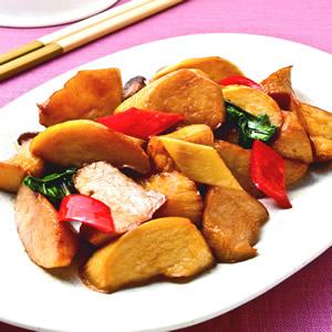 三杯杏鮑菇(4)