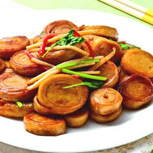 薑絲炒麵腸(2)