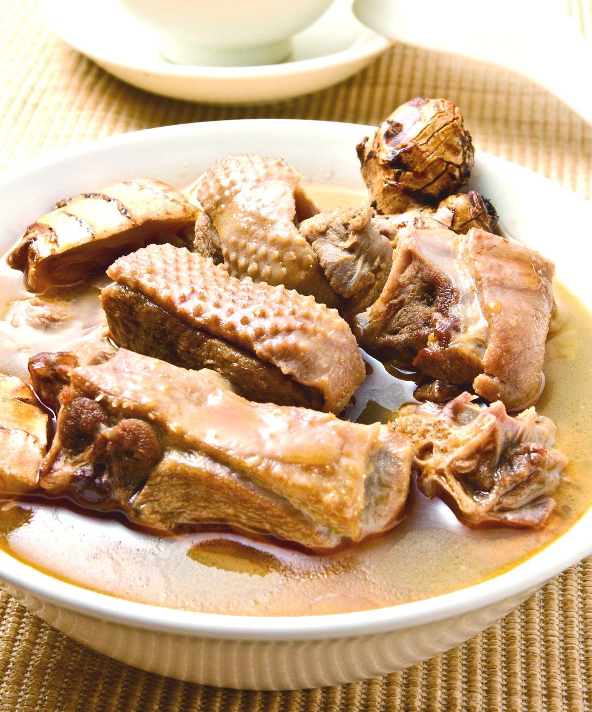 食譜:薑母燉鴨