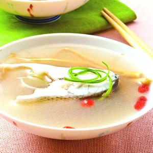 蔘鬚鱸魚湯